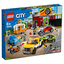 LEGO 60258 City Nitro Wheels Tuning Workshop